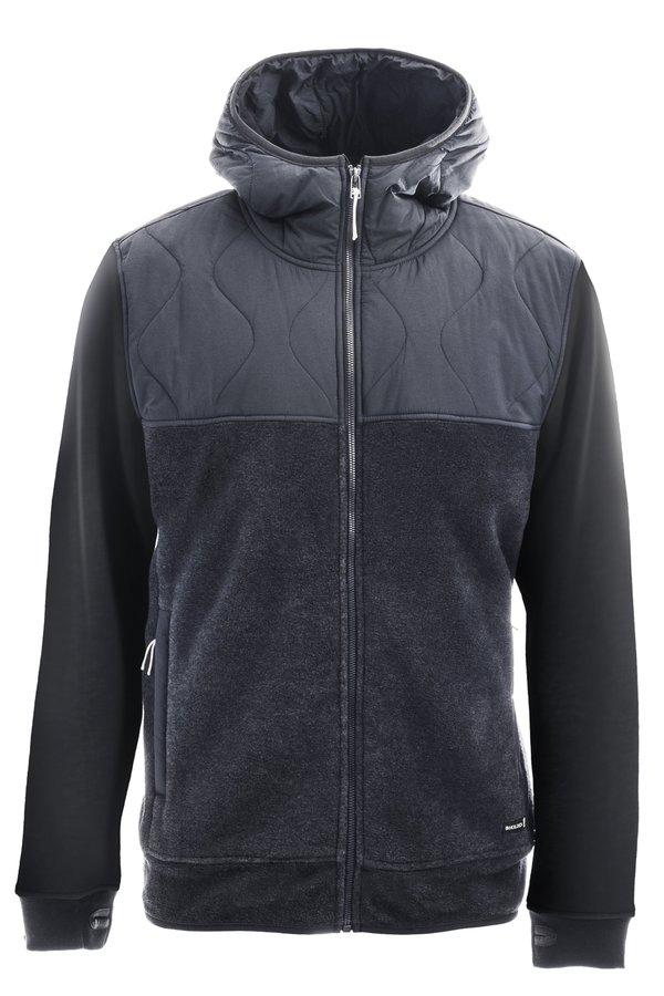 Флисовая кофта Holden Men's Sherpa Hybrid Zip Up black by agency iworldestate.com