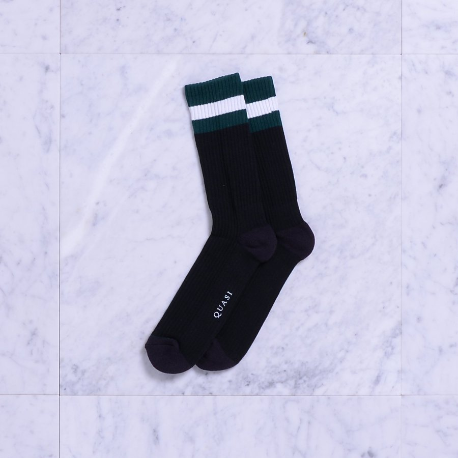 Носки Quasi Otto socks black by agency iworldestate.com