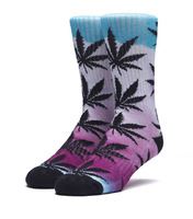 Носки HUF SP18 Plantlife Digital airbrush socks pink