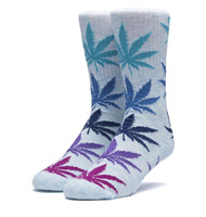 Носки HUF SP18 Plantlife melange sock lt blue