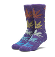 Носки HUF SP18 Plantlife melange sock purple