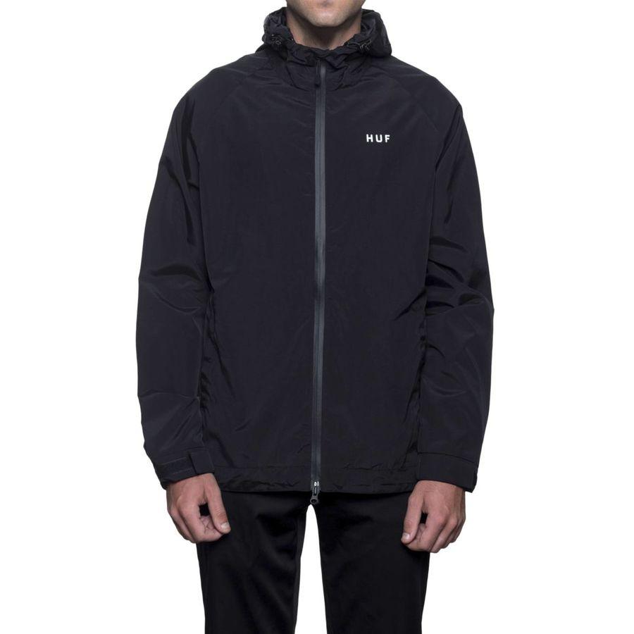 Куртка HUF SP18 Standard shell jacket black by agency iworldestate.com