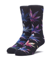 Носки HUF SP18 Plantlife Tie dye leaves socks black