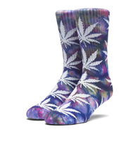 Носки HUF SP18 Tie dye plantlife socks multi