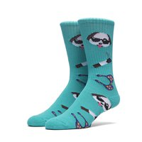 Носки HUF Party animal crew sock teal