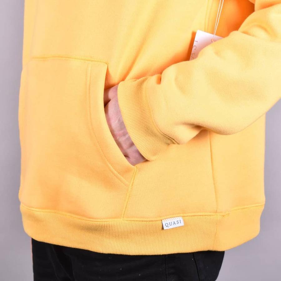 Реглан Quasi SPQ18 Wordmark hooded sweatshirt in honey by agency iworldestate.com