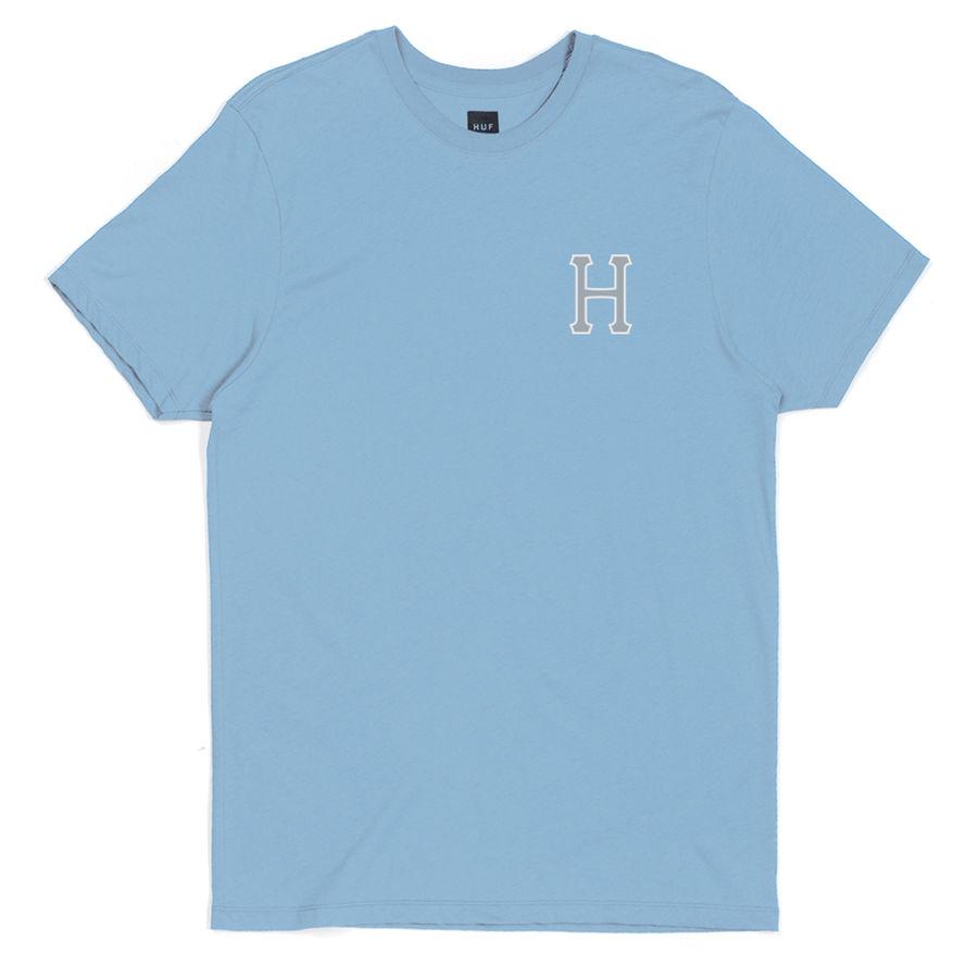 Футболка HUF Reflective classic H tee blue by agency iworldestate.com
