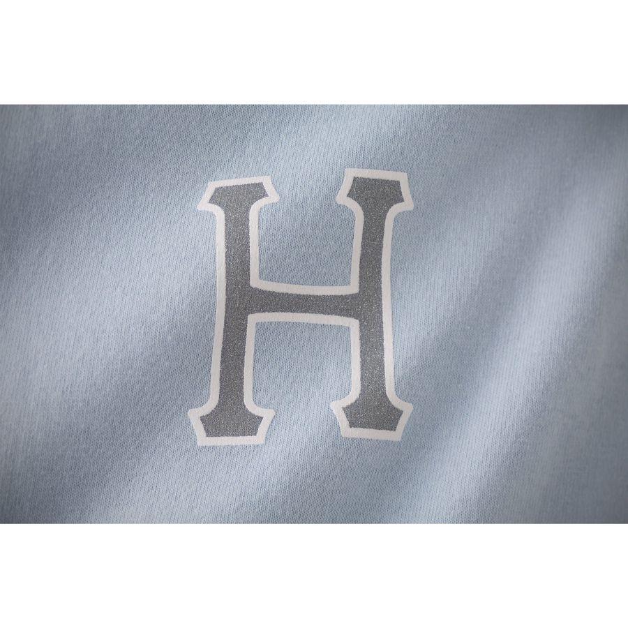 Футболка HUF Reflective classic H tee blue -30% by agency iworldestate.com