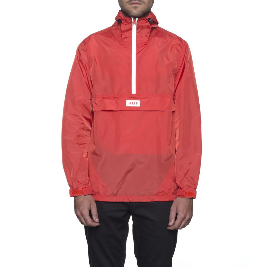 Анорак HUF Sequoia anorak jacket hot coral by agency iworldestate.com