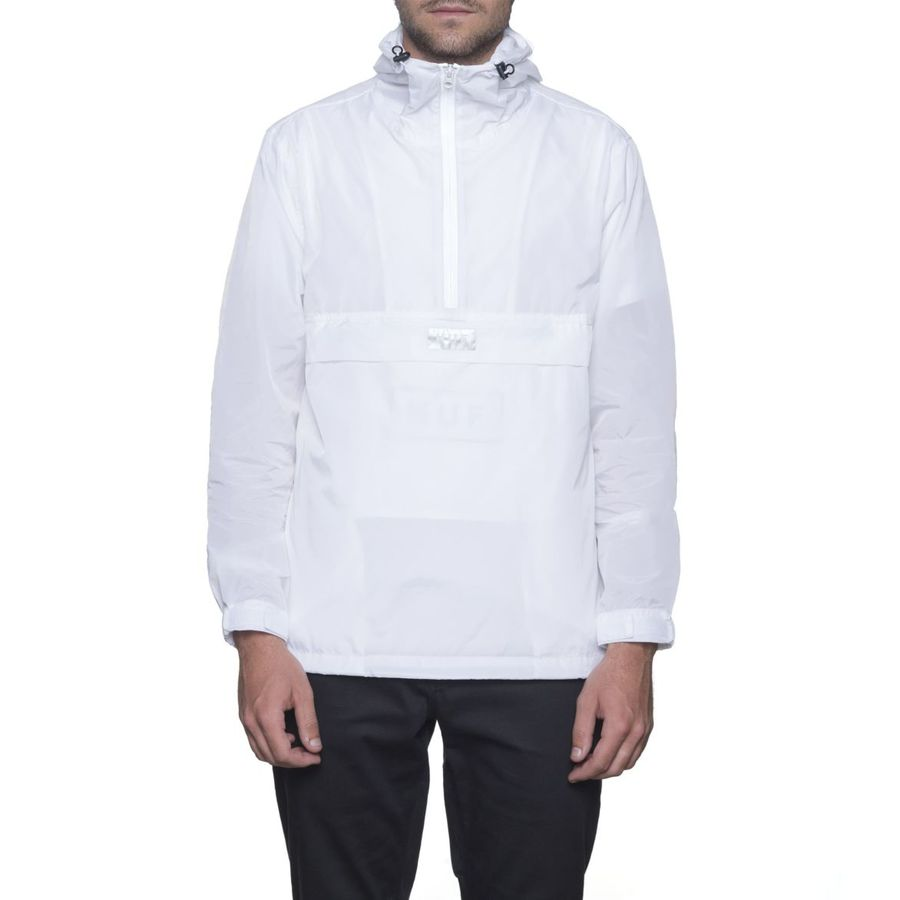 Анорак HUF Sequoia anorak jacket white by agency iworldestate.com