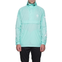 Анорак HUF Thrasher TDS packable anorak mint