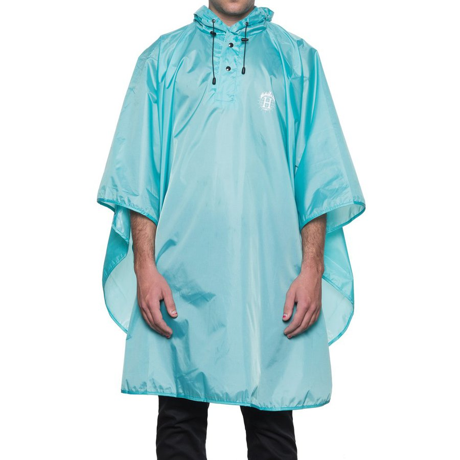 Пончо HUF Thrasher TDS packable poncho mint by agency iworldestate.com