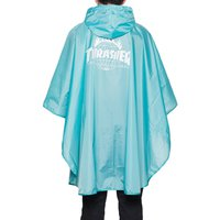 Пончо HUF Thrasher TDS packable poncho mint