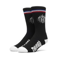 Носки HUF Thrasher TDS sock & can black