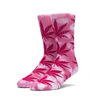 Носки HUF Tie dye plantlife socks pink