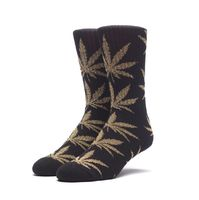 Носки HUF Tinsel plantlife sock black gold