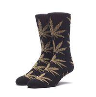 Носки HUF Tinsel plantlife sock black gold
