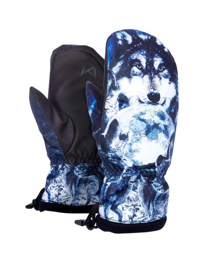 Сноубордические варежки Celtek Bitten by mitten wolfpack by agency iworldestate.com