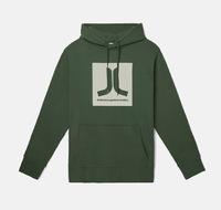 Реглан WeSC Fall18 Box Icon hooded sweatshirt sycamore