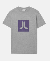 Футболка WeSC Fall18 Box Icon T-shirt grey melange