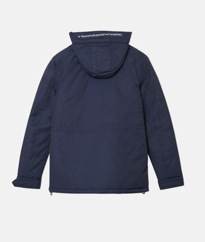 Куртка WeSC Fall18 The Field jacket navy blazer by agency iworldestate.com