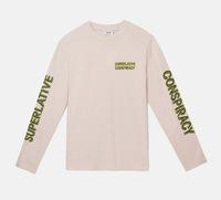 Лонгслив WeSC Fall18 Makai SC ls t-shirt milkshake pink