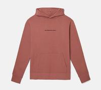 Реглан WeSC Fall18 Mike small chest logo hooded sweatshirt burnt rose
