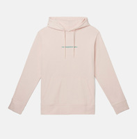 Реглан WeSC Fall18 Mike small chest logo hooded sweatshirt pink milkshake