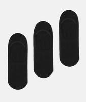 Носки 3 пары WeSC Fall18 No Show basic socks 3 pack black