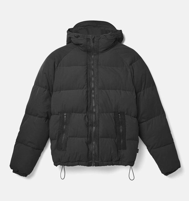 Куртка WeSC Fall18 The Padded jacket black by agency iworldestate.com