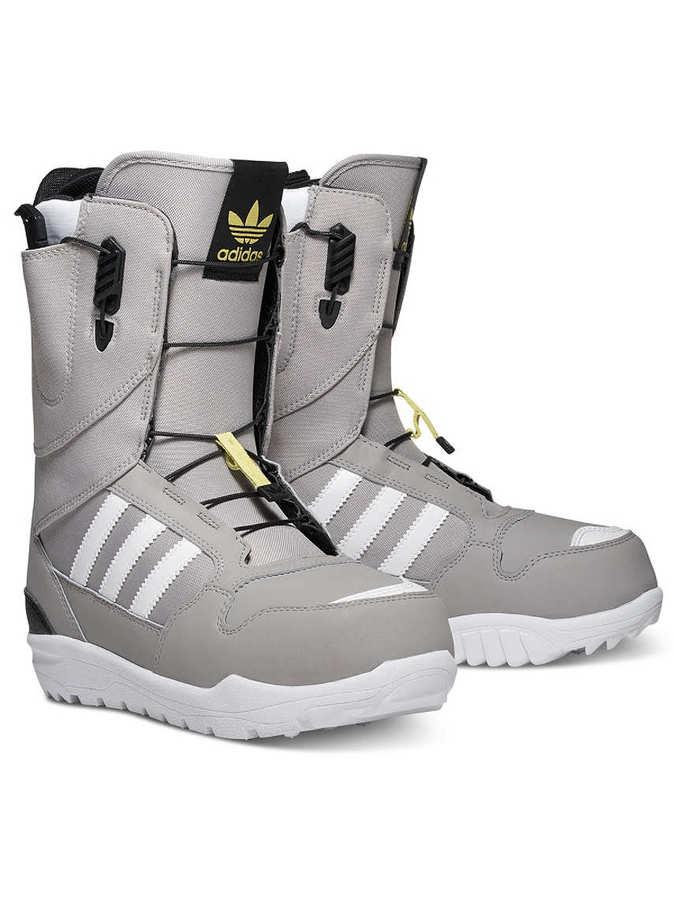 Сноубордические ботинки Adidas ZX 500 grey white by agency iworldestate.com