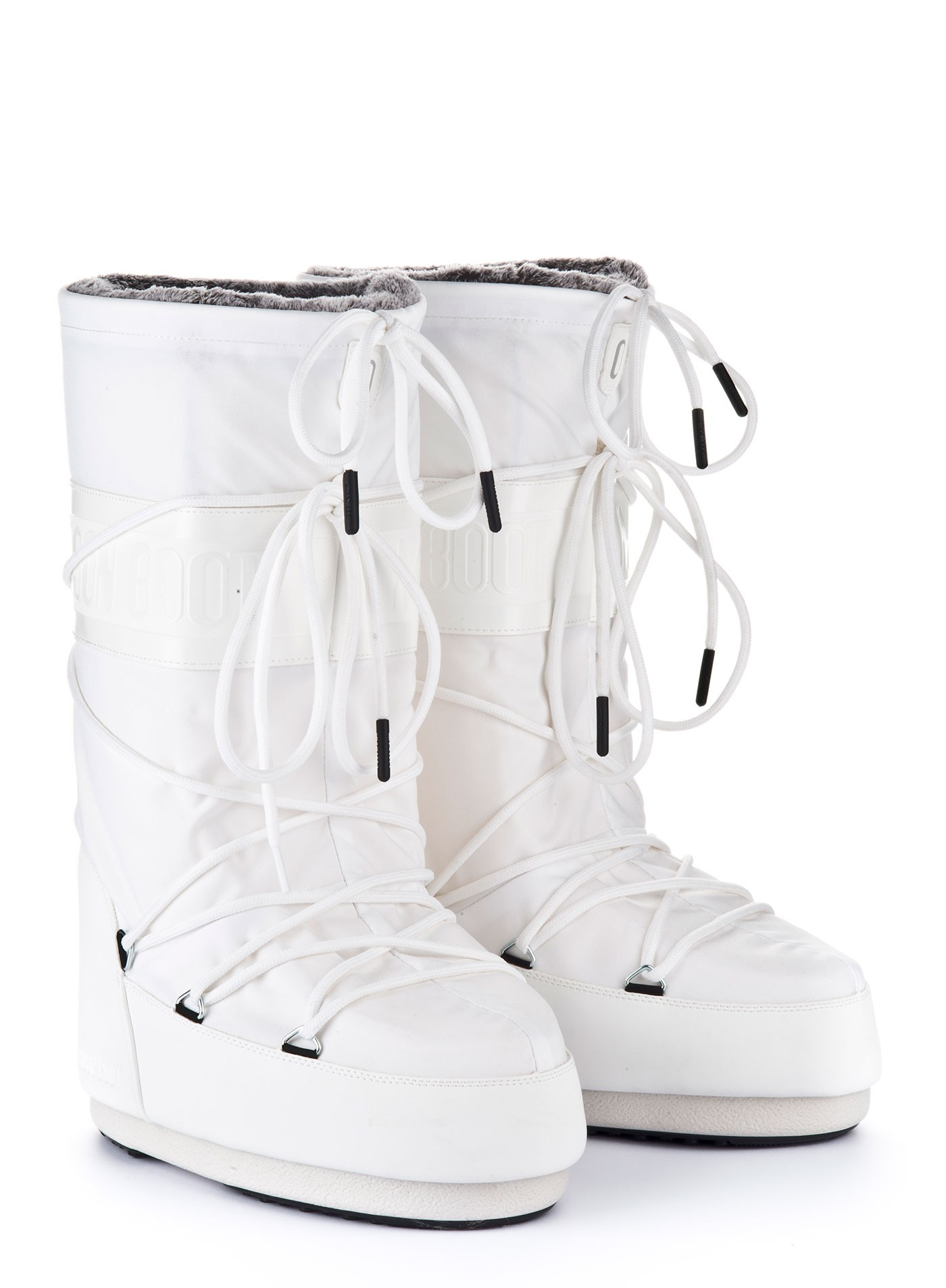 Мунбуты Moon boot Classic plus white