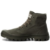 Кеды Palladium Pampa hi mono U olive night