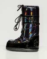 Зимние сапоги, мунбуты Tecnica Moon Boot Jeremy Scott holographic