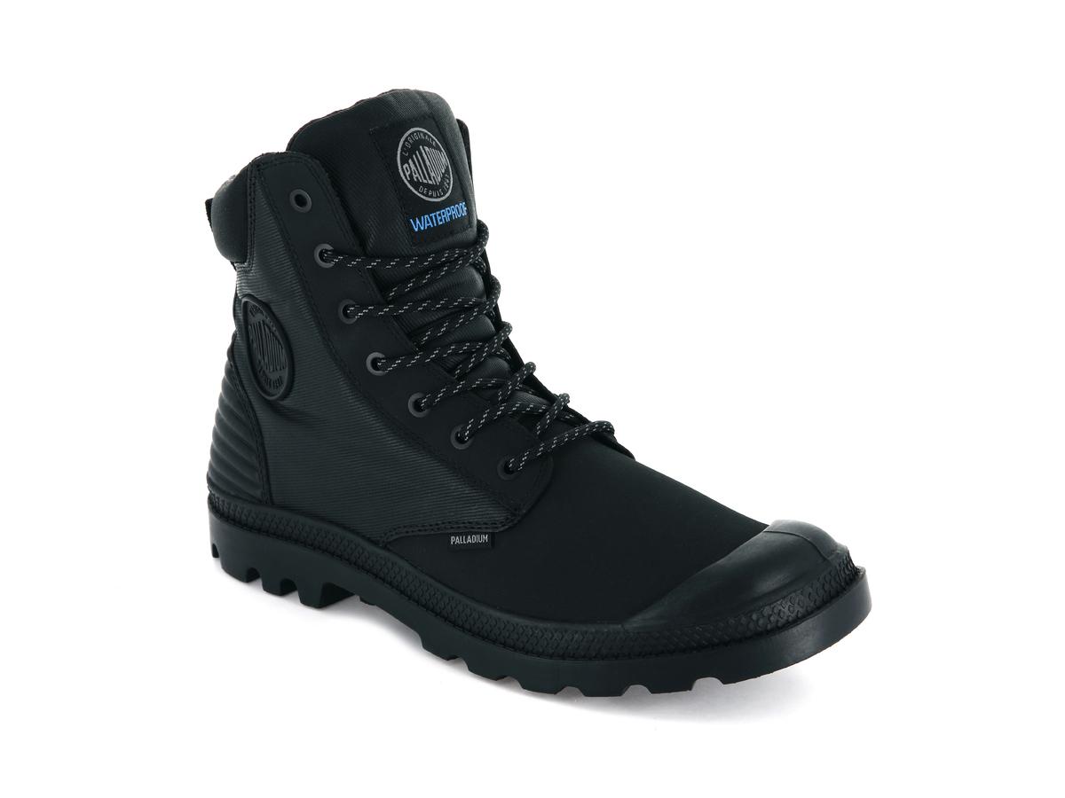 Ботинки Palladium SC shadow WPR M black -30%