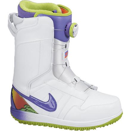 1720477a Женские сноубордические ботинки Nike Vapen X Boa White