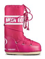 Зимние сапоги, детские мунбуты Tecnica Moon Boot Nylon bouganville junior -30%