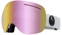 Маска со сменными линзами Dragon 19-20 X1 - White / pink ion+dark smoke