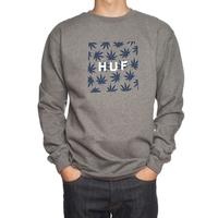 Реглан HUF Plantlife box logo crew -50%