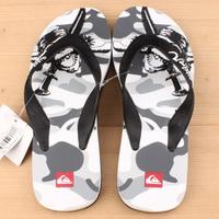 Мужские вьетнамки Quiksilver white/grey/black -60%