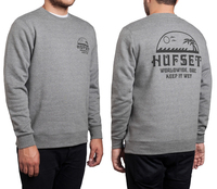 Реглан HUF  Keep it wet crew grey heather -30%