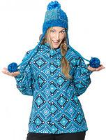 Женская куртка Horsefeathers Carina blue peru -60%