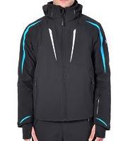 Горнолыжная куртка Volkl Black Flash Jacket black/bright azure/white -50%
