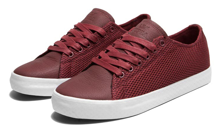 Кроссовки Supra Thunder low burgundy