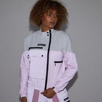 Женская ветровка Ellesse Q3FA20 Mydos track top pink reflective