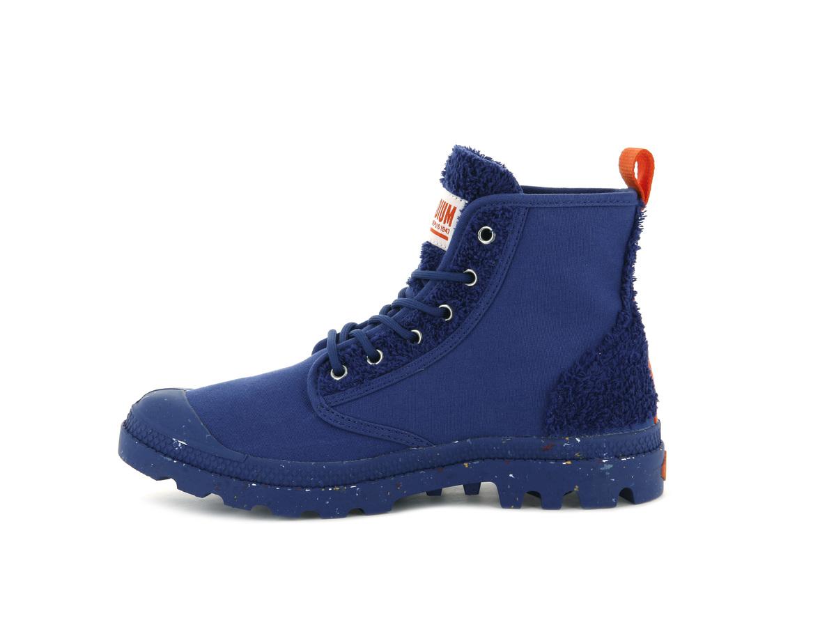 Ботинки Palladium Pampa Pilou sodalite blue -30%