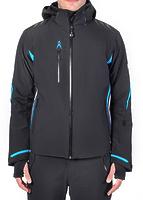Горнолыжная куртка Volkl Black Jack Jacket black/bright azure/white -50%