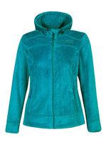 Женская флисовая кофта Free Country Hooded Butterpile Jacket winter green