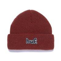 Шапка HUF HO20 93 logo usual beanie brick