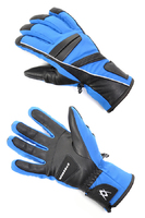 Мужские перчатки Volkl Black Flash glove olympic blue